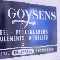 Uithangbord Goysens